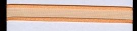 Organza lint col.L26 oranje 7mm x 1m