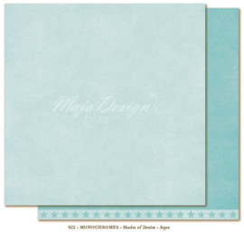 Maja Design * Monochromes *  Shades of Denim * Aqua *