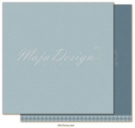 * Maja Design * Monochromes * Joyous Winterdays * Dusty Teal