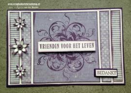HP Stempel 13l Set 2 teksten vriendin