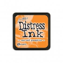 Distress Ink Mini Carved Pumkin