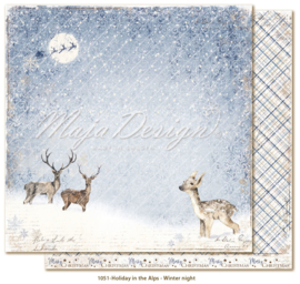 Maja Design * Holiday in the Alps * Winter night
