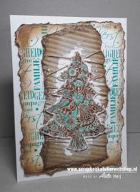 HP Stempel 80d, Kerst, Familie, Gezelligheid......