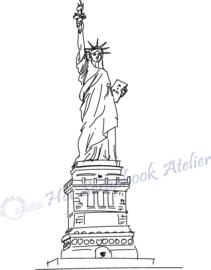 HP Stempel 107a2, Amerika