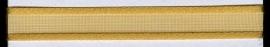 Organza lint col.270 warm geel/goud 10mm x 1m