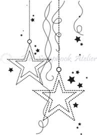 HP Stempel 79r, sterren achtergrond