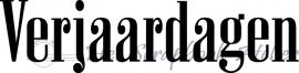 HP Stempel 38b5 Verjaardagen stoer