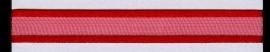 Organza lint col.030 fel rood 10mm x 1m
