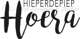 HP Stempel 97a, Hieperdepiep HOERA