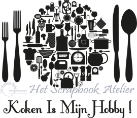 HP Stempel 14a Koken is mijn hobby