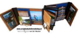 "Workshoppakket Scrapweekend Album "" Acadia"""