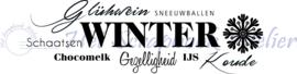 HP Stempel 109s, Winter tekst border