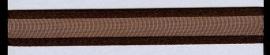 Organza lint col.054 donkerbruin  7 mm x 1m