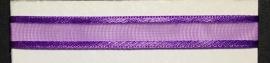 Organza lint col.048 paars 10 mm x 1m