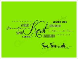 HP Stempel 113t, Kerst tekstborder