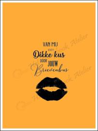HP Stempel 113e, Dikke kus door brievenbus