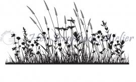 HP Stempel 4d Border grassen