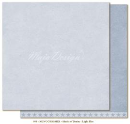 Maja Design * Monochromes *  Shades of Denim * Light Blue *