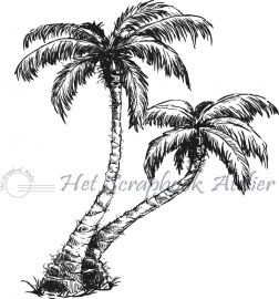 HP Stempel 54b Palmbomen set