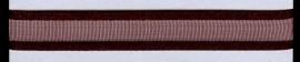 Organza lint col.168 roodbruin 10 mmx 1m