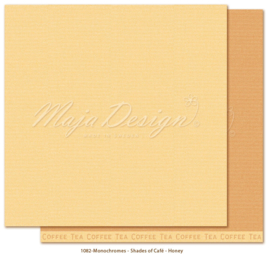 Maja Design * Monochromes * Shade of Cafe * Honey