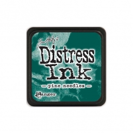 Distress Ink Mini Pine Needles