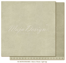 Maja Design * Monochromes * Shades of denim * Light sage