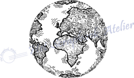 HP Stempel 107b, Wereldbol