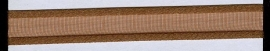 Organza lint col.056 bruin 7mm x 1 m