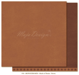 Maja Design * Monochromes *  Shades of Denim * Brown *