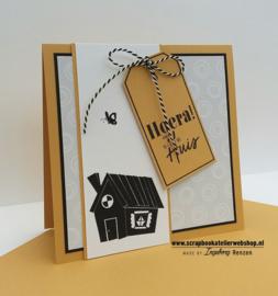 HP Stempel 99a Hoera een nieuw huis