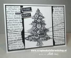 HP Stempel 27i, Kerst Tekst Achtergrond