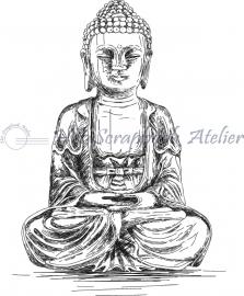 HP Stempel 64a, Boeddha