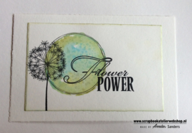 HP Stempel 19a5 Flower power