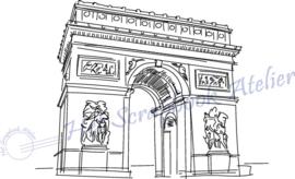 HP Stempel 107a4, Arc de Triomphe