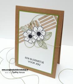 HP Stempel 119c,  SETJE een bloemetje voor jou/jullie