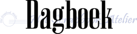 HP Stempel 38n, Dagboek