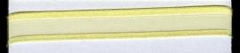 Organza lint col.L25 geel 7mmx 1m