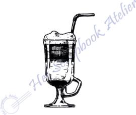 Hp Stempel 114a, Koffieglas mini