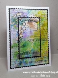 HP Stempel 23a Set 5 kaarttekstjes