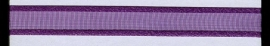 Organza lint col.050  paars 10mm x 1m