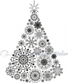 HP Stempel 29h Kerstboom conus