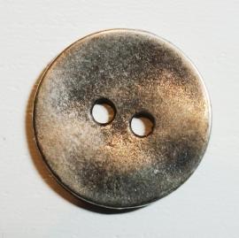 Knoop medium, zilverkleurig, doorsnede 1,8 cm