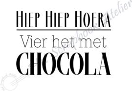 HP Stempel 93k, .....Vier het met chocola