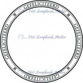 HP Stempel 35a Ring gefeliciteerd
