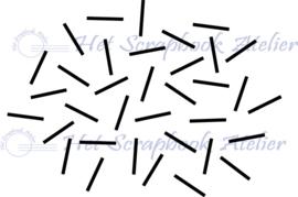 HP Stempel 27p, streepjes lukraak achtergrond
