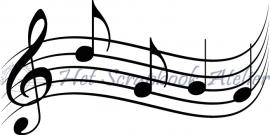 HP Stempel 43b Muziekbalk