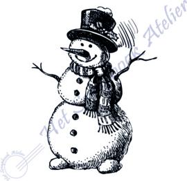 HP Stempel 100b, sneeuwman mini