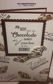 HP Stempel 113c, Jij bent dol op chocolade