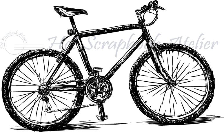 HP Stempel 73b, fiets